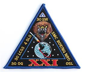USA-193 (NROL-21) launch patch.