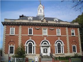 The Annapolis Main Post Office in October 2012.