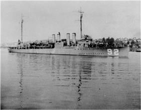 USS Gridley (DD-92)
