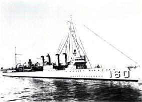 USS Herbert (DD-160)