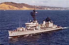 USS Orleck (DD-886) in 1964