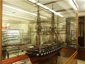 Model of USS Delaware