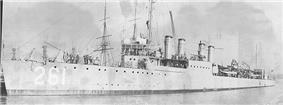 USS Delphy (DD-261)
