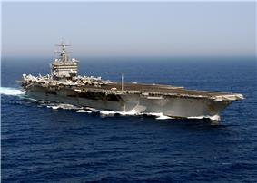 Enterprise underway in the Atlantic Ocean during Summer Pulse 2004.