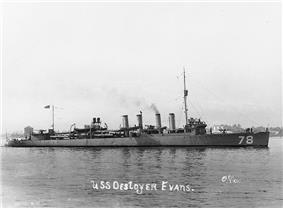 USS Evans (DD-78)