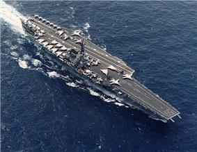 USS Forrestal, lead ship of her class of supercarriers