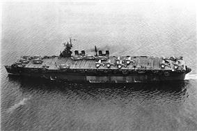 USS Independence in San Francisco Bay, 15 July 1943