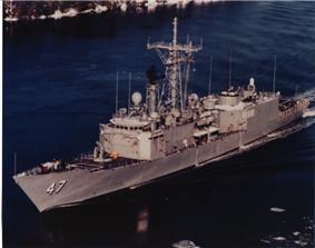 USS Nicholas (FFG-47).