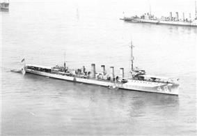 Parker off New York City in May 1921