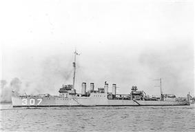 USS Paul Hamilton (DD-307)