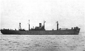 USS Picket (AGR-7) in 1956