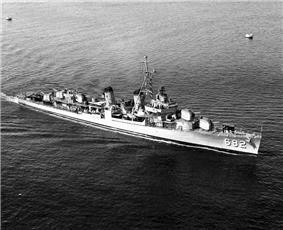 USS Porterfield (DD-682) in the early 1950s