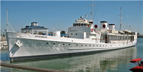 USS Potomac in 2009
