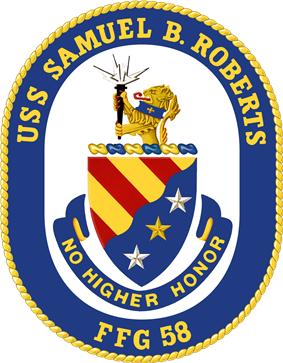 USS Samuel B. Roberts coat of arms