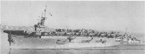 USS White Plains at San Diego, 8 March 1944