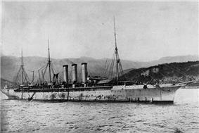 USS Yale, SS City of Paris, SS Philadelphia, USS Harrisburg