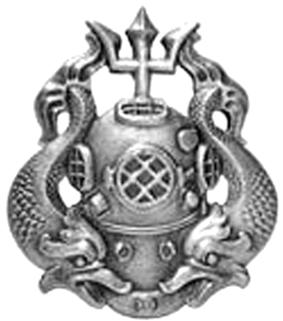 U.S. Army Master Diver Badge