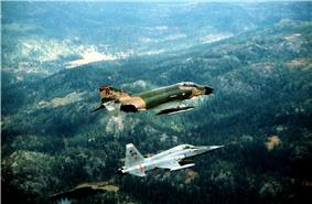 US F4 Phantom and Norwegian F5 Freedom Fighter.jpg