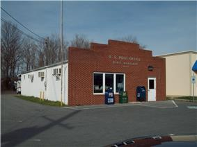 The U.S. Post Office in Deale, Maryland, in March 2010