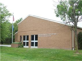 The U.S. Post Office at Shady Side in May 2010