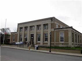 US Post Office-Wellsville