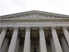 Entrance to U.S. Supreme Court Building