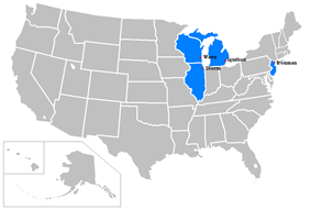 All teams participating in the 2008–09 season