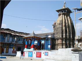 Omkareshwar Temple Ukhimath