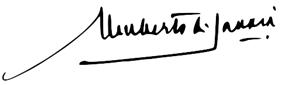 Umberto II of Italy signature