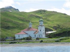 Russian Orthodox Church in Unalaska