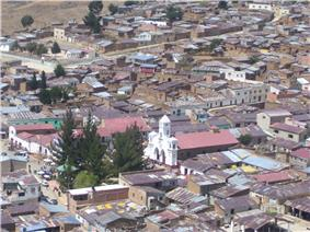 Uncía, the capital of the province