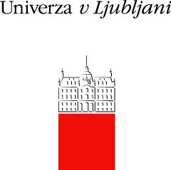 Logo of the University of Ljubljana