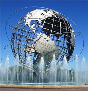 The Unisphere in Flushing Meadows-Corona Park