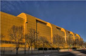 Universiade Pavilion (Butterdome) in 2007.