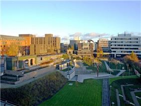University of Strathclyde Campus, Glasgow