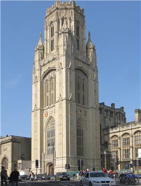 Wills Memorial Building, University of Bristol