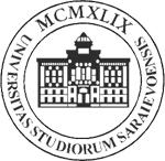 Logo of the University of Sarajevo.