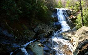 Upper Creek Falls.