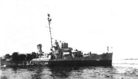 USS Tatum at sea