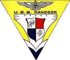 Insignia of USS Hancock.