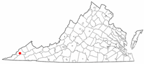 State map highlighting City of Norton