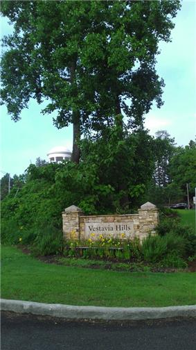 Entrance to Vestavia from Highway 31