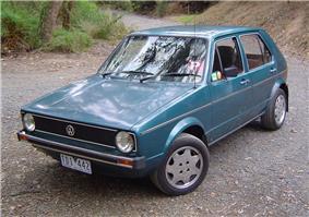 Mk.1 Volkswagen Golf.