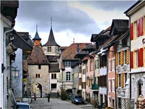 Valangin old city