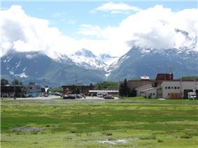 Skyline of Valdez, Alaska