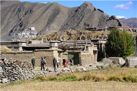 Near the Valley of the Kings (Tibet)