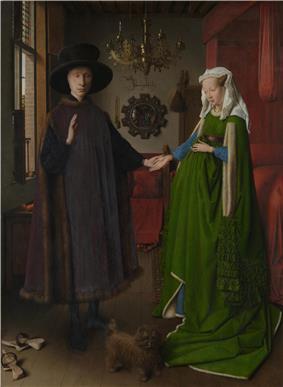 Van Eyck, Arnolfini Portrait