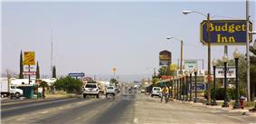 The main drag through Van Horn