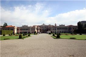 Palazzo Estense, town hall of Varese