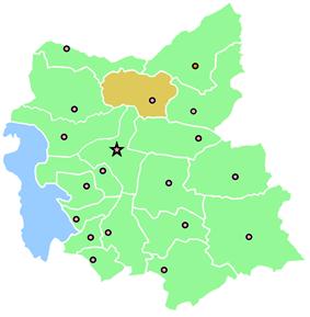 Location of Varzaqan County in East Azerbaijan Province